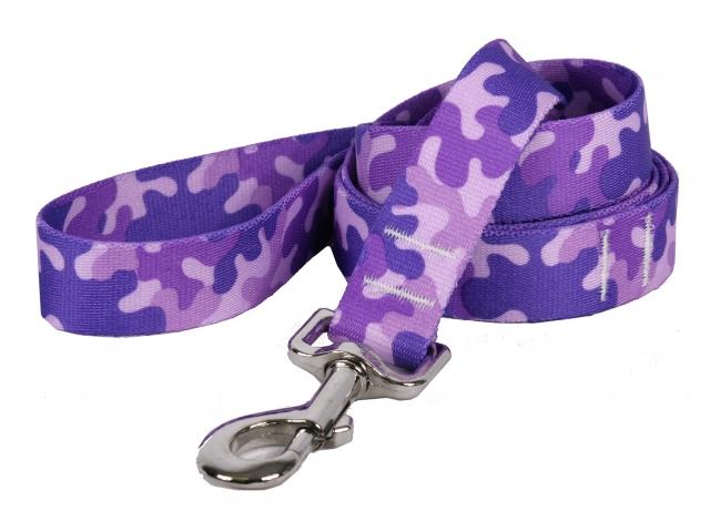 Camo Purple Leash