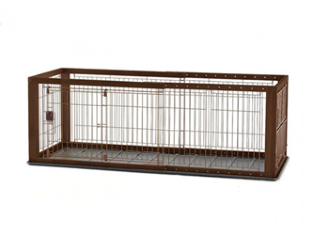 Richell Expandable Pet Pen with Floor, Medium