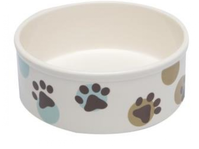 Ceramic Dog Dish